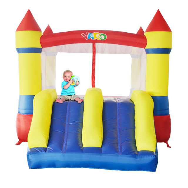YARD Inflatable Bounce House Double Slide Outdoor Bouncy Castle for Kids Jumper Special Offer for Africa