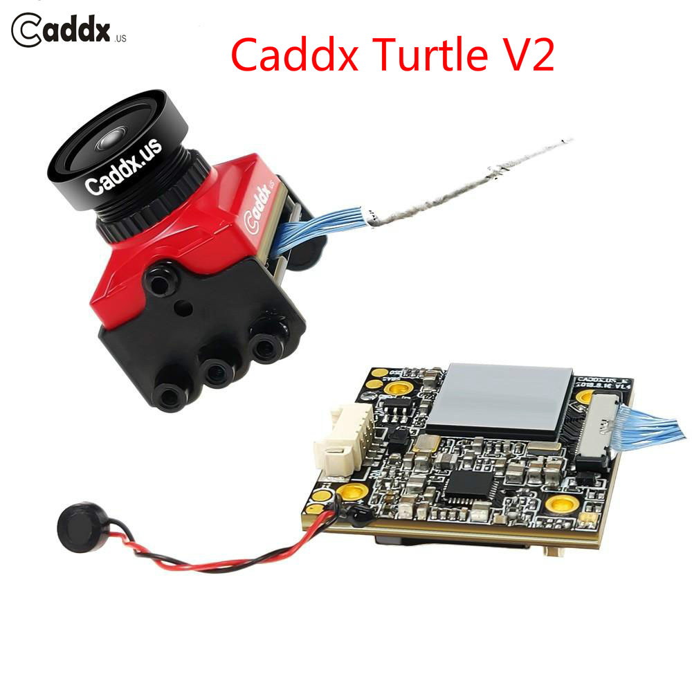 New Upgraded Caddx Turtle V2 1080P 800TVL HD FPV Camera built-in OSD FPV Action Camera for RC Drone Multicopter racing extra f210 z 36 adjustable action camera fixing mount set for walkera f210 multicopter rc drone