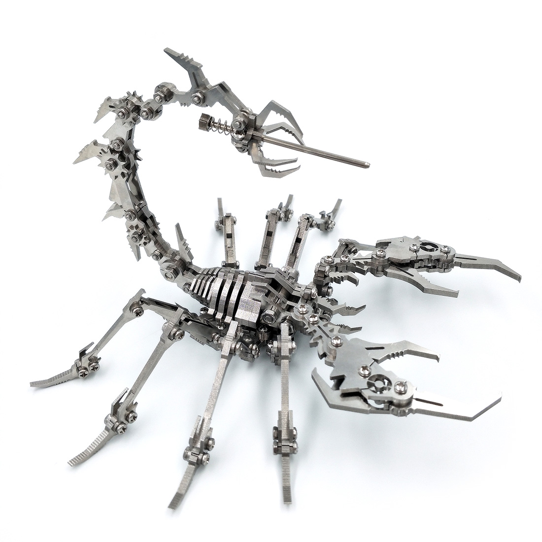 Scorpion King 3D Stainless Steel DIY Assembled Detachable Model Gift Ornaments Home Office Decoration Accessories