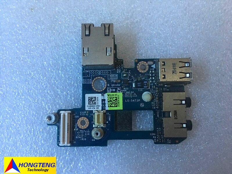 Dell Latitude E6410 Power Button Wifi Switch Board w//Cable A09B26 LS-5471P