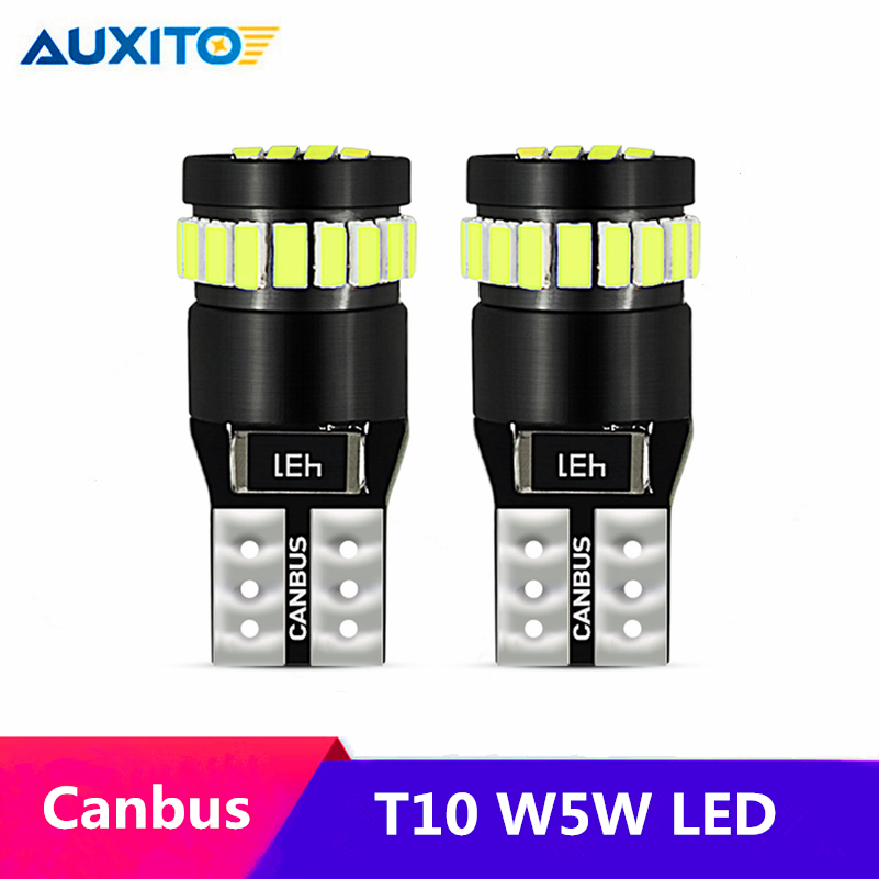 2x W5W T10 <font><b>LED</b></font> Canbus 168 194 License Plate Lights For <font><b>Renault</b></font> Koleos Fluenec Latitude Kadjar <font><b>Captur</b></font> Talisman Megane RS Sandero image