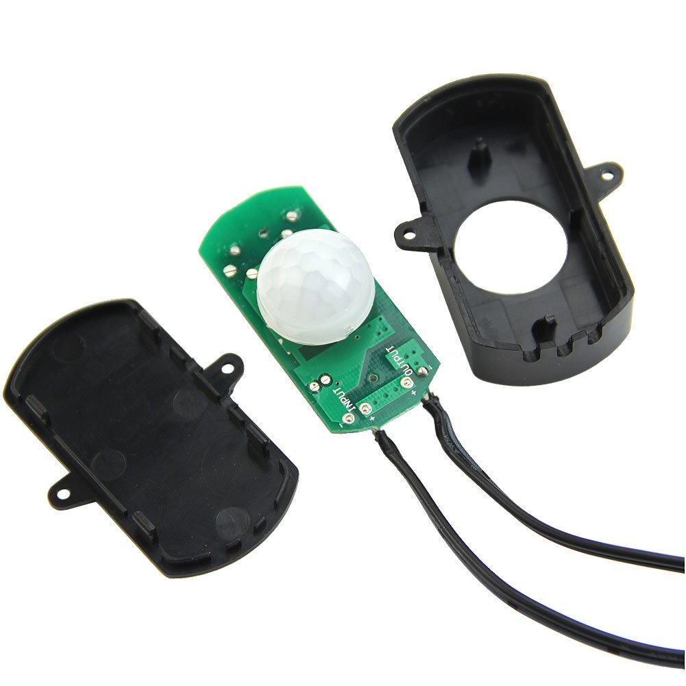 DC 5~24V 5A PIR Sensor Connector Switch for Motion-activated Lighting/&LED Strip