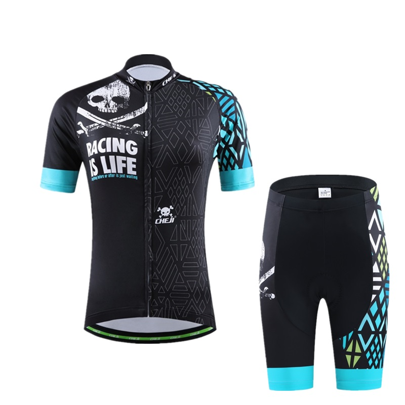 Women Short Sleeve 100% Polyester Cycling Jersey Sets Summer MTB Bicycle Clothes Ropa Maillot Ciclismo Bike Wear Clothing Set  breathable cycling jersey summer mtb ciclismo clothing bicycle short maillot sportwear spring bike bisiklet clothes ciclismo