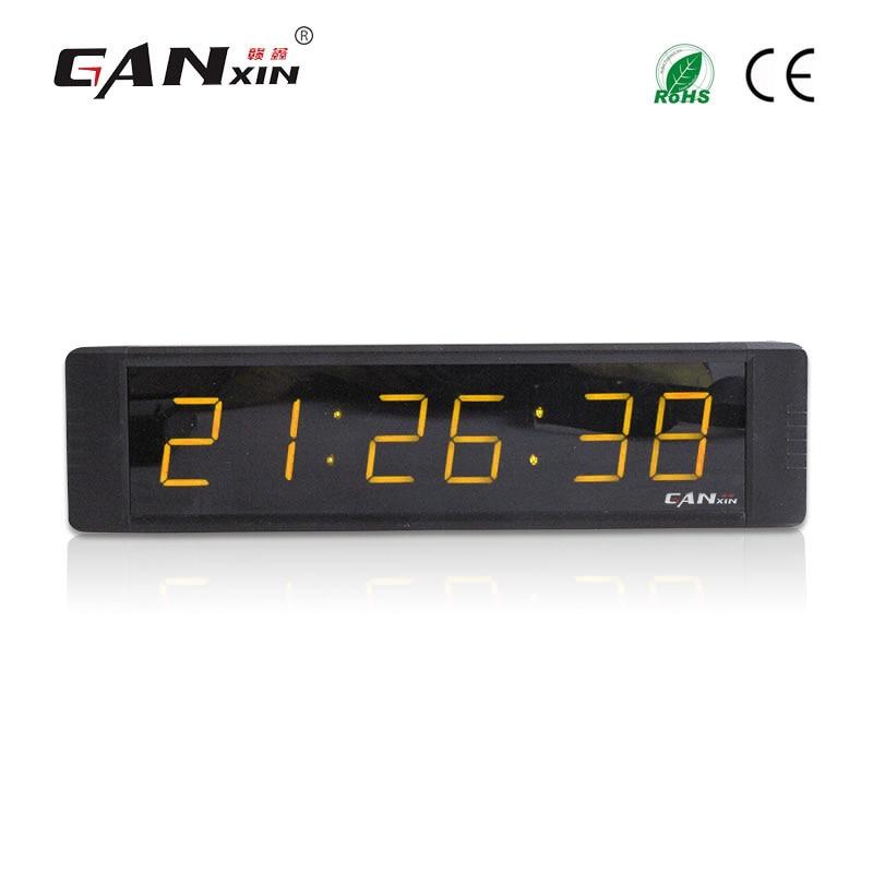 [Ganxin] 1 pulgada moderno reloj de escritorio digital multifuncional - Decoración del hogar