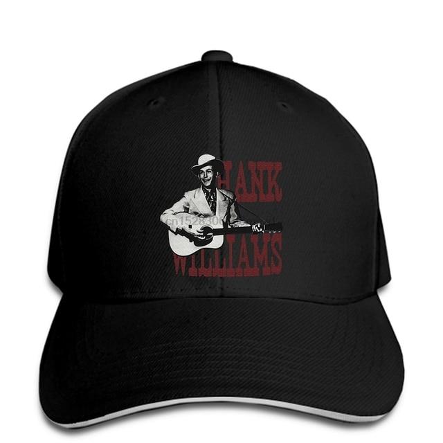 Hank Williams Country Western Men Baseball Cap Black Snapback Cap Women Hat Peaked