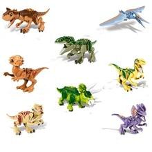 Jurassic Dinosaur World Indoraptor Building Blocks Jurrassic Dinosaur Figures Bricks Toys For Children Compatible with Legoing