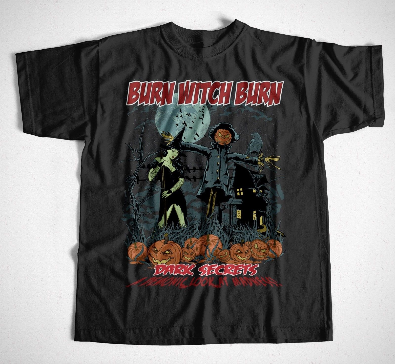 Burn Witch Burn S Xxl Hexe Halloween Kurbis Monster Horror Kostum Fun