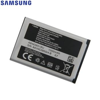 Original Samsung Battery For S5620I S5630C S5560C W559 J808 F339 S5296 C3322 L708E C3370 C3200 C3518 S5610 AB463651BU 1000mAh