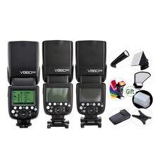GODOX V860IIC V860IIN V860IIS V860IIO V860IIF batería Li-ion TTL 2,4G Flash HSS Speedlite para Canon Nikon Sony Olympus Fuji