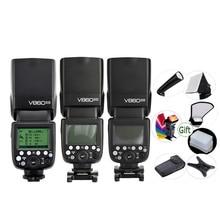 GODOX V860IIC V860IIN V860IIS V860IIO V860IIF Li Ion Batterie TTL 2,4G HSS Speedlite für Canon Nikon Sony Olympus Fuji