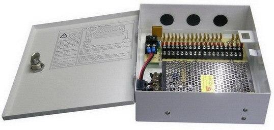 10A 18 Channel power supply adaptor CCTV camera DVR Surveillance 120w DC12V output
