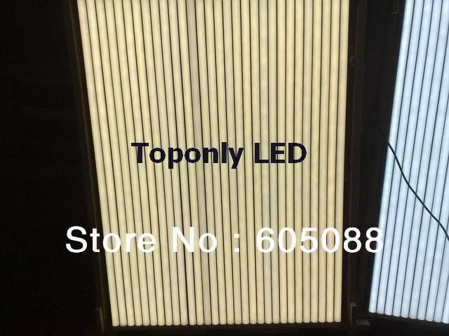 Lampe fluorescente à tube led t8 18 w, ac100-240v, 1700lm avec couvercle PC givré, conception d'alimentation isolée, sûre à utiliser à la maison, 10 pcs/lot!
