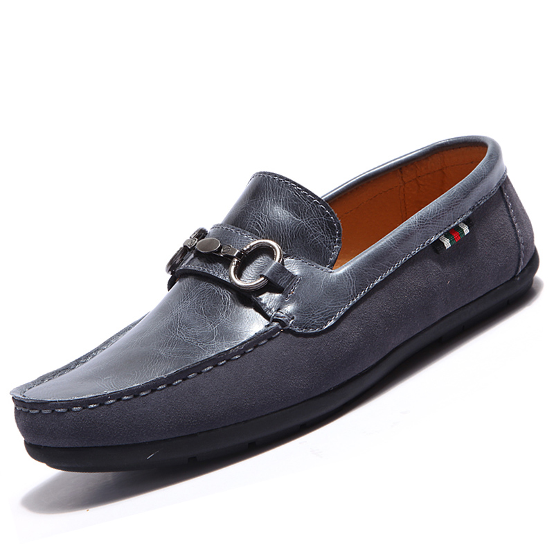 2016 new trend loafers comfortable suede driving shoes