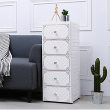 Drawer organizer plastic storage cabinet for clothing box for toys and clothes storage box with wheels