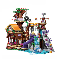 10497 Compatible with Lego Blocks Friends Adventure Camp Tree House 41122 Emma Mia Figure Model BuildingToy hobbies For Children