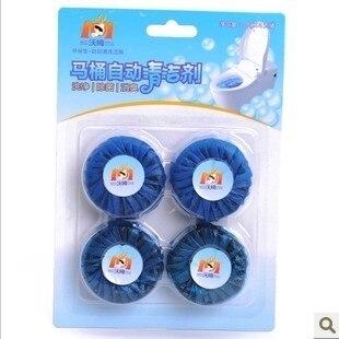 Led blue bubble toilet bowl cleaner toilet automatic toilet bowl cleaner cleanser antiperspirant jiece po