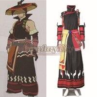 Free Shipping Custom Made Monster Hunter Yukumo Cosplay Man Costume Anime Cosplay Costume