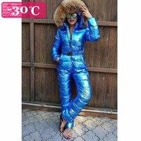 Зимние Для женщин Пуховый комбинезон на пуху для девочек, Детский комбинезон на натуральном меху женские пуховое пальто для девочек пухови