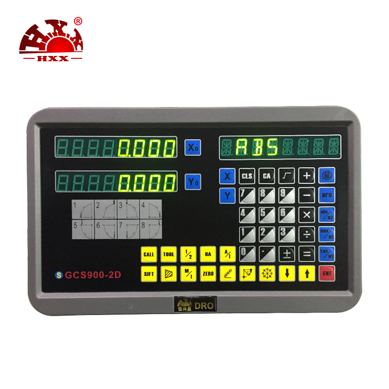 HXX 2018 analysis instruments tools Digital display meter DRO for mill machine hxx new dro display digital readout gcs900 2d with one piece for all machines
