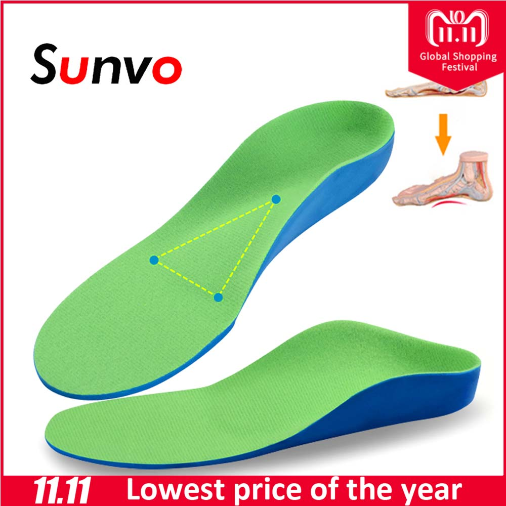 Child Eva Breathable Insole Absorb Sweat Shock Shoes Pad Children Sports Kids Baby Full Length Shoes Insole Accessories 14 To 24 Shoes Insoles