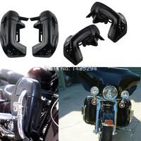 Motorcycle Leg Fairings Kit Lower Vented Leg Protector Decorative Fairing Fits For Harley Touring Road King