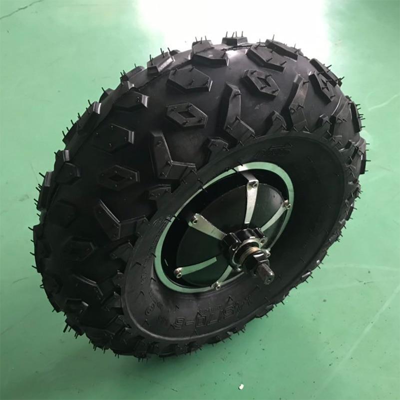 Electric Brushless Gear Hub Motor 48V 350W 11inch 12inch 14inch 45N m 5 10km h Speed