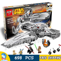 698pcs Bela 05008 New Star Wars Sith Infiltratortm Model Building Blocks Sets Gifts Boys Bricks Compatible With Lego