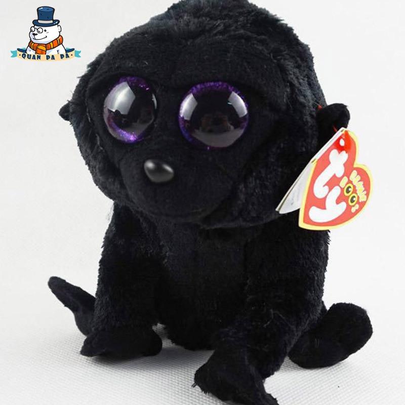 [Quanpapa] Новое 15 см хлопок Животные плюшевые игрушки шимпанзе кукла регулярное мягкие Животные Ty Beanie Боос плюшевые игрушки для ребенка