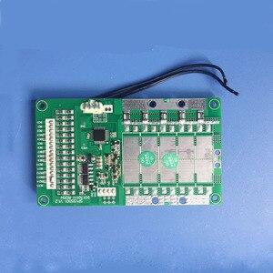 Image 3 - 11 S de Proteção Inteligente de bateria de Iões de Lítio BMS e placa PCB com bluetooth e comunicação com o PC 30A de carga e descarga atual