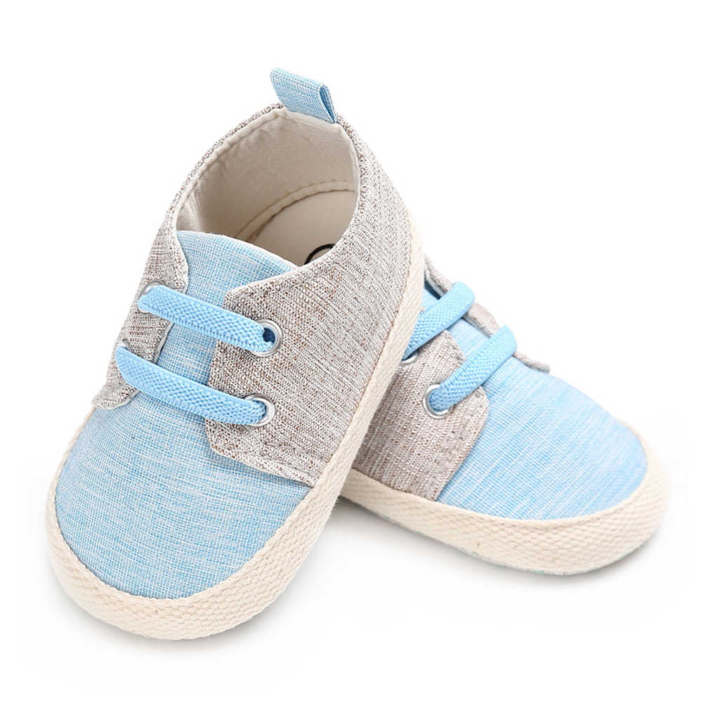 Newborn Elastic Shoes Brand Baby Boy Crib Shoes For Girls Elastic Band Newborn Footwear Infant Shoes Toddler Loafers Child Non Slip Soft Sole Slippers