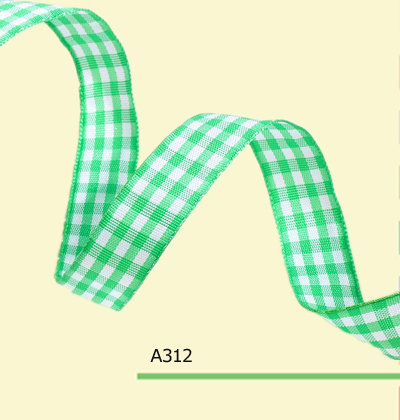 100yards roll 1 Inch 25mm Green Christmas font b Tartan b font Ribbon For Hair Bows