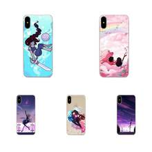 Steven Universe Pearl For Huawei Honor Mate Nova 2 6A 7A 7C 8C 8S 10 10i Y5 Y9 Lite P Smart GR5 2019 TPU Case Protective(China)