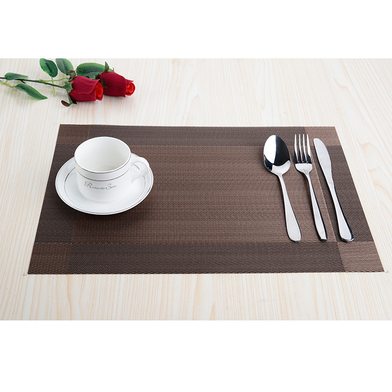 buy set of 8 pvc decorative vinyl placemats for dining table runner linens place mat in kitchen accessories cup wine mat coaster pad from - Vinyl Placemats