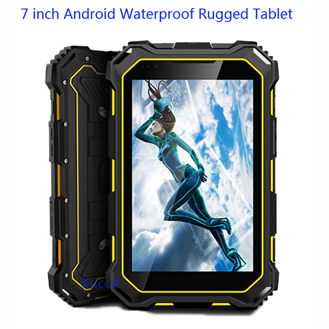 IP68 Waterproof Rugged tablet PC WIFI MP4 MTK8382 quad core 3G 7.0 inch Android phone calls OTG Industrial Computer Accessories