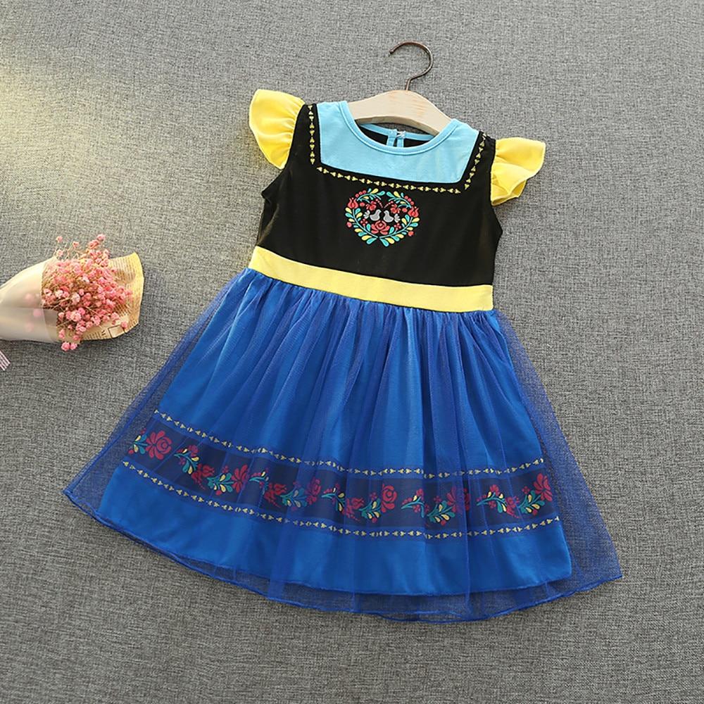 2019 été filles robe douce fête robe vêtements glace Romance enfants princesse robe filles vêtements Vestidos bébé enfants robes