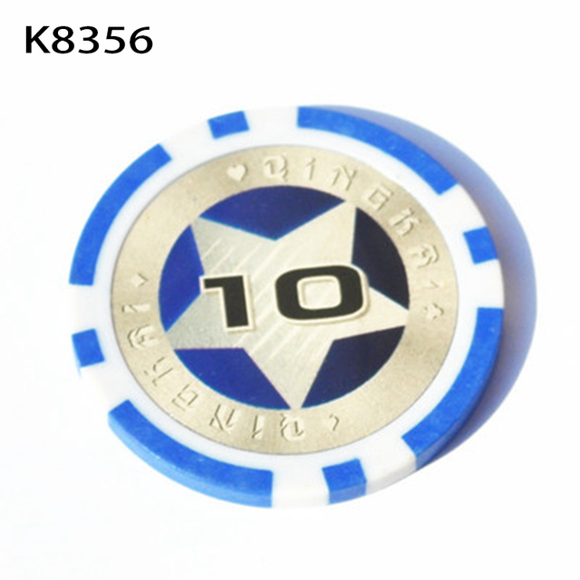 2017 New High quality Poker chips 12g Iron+ABS Casino chips Texas Holdem Poker Chips Wholesale K8356