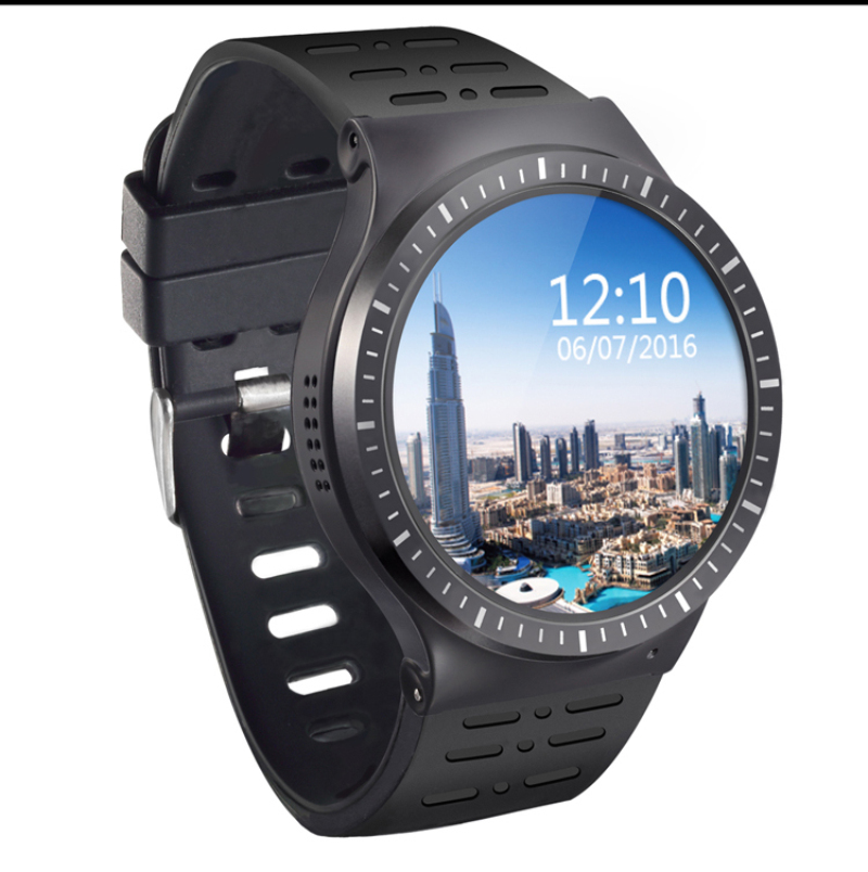 New Best ZGPAX S99B MTK6580 Quad Core Smart Watch 512MB+8GB GPS WIFI smartwatch with 2.0 HD high camera for apple android phone image
