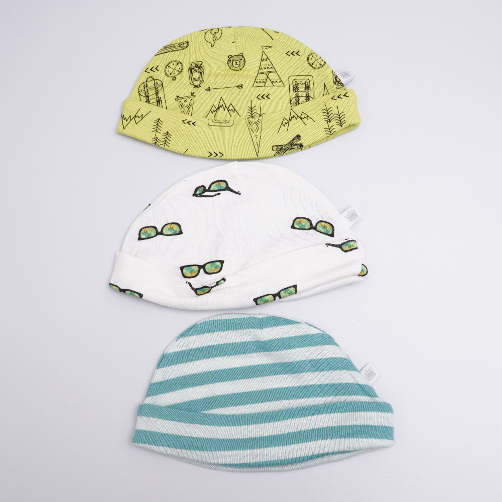 (2pcs/lot) New Unisex Beanie Toddlers hats Baby Colorful Newborn Children Caps Photography Props Accessories