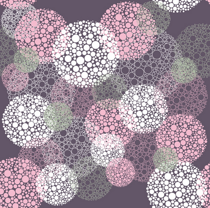 Pink Polka Dot Wallpaper: 5x5ft(1.5x1.5m) Cartoon Firework Photography Backdrop
