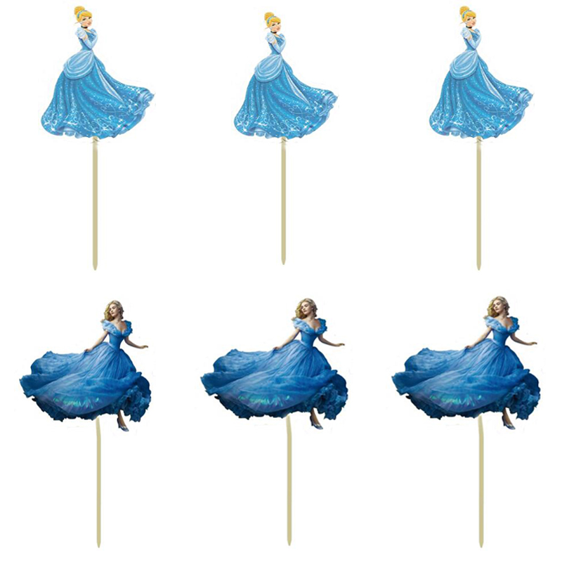 Sensational Best Top 10 Cinderella Cupcakes Topper Near Me And Get Free Birthday Cards Printable Inklcafe Filternl