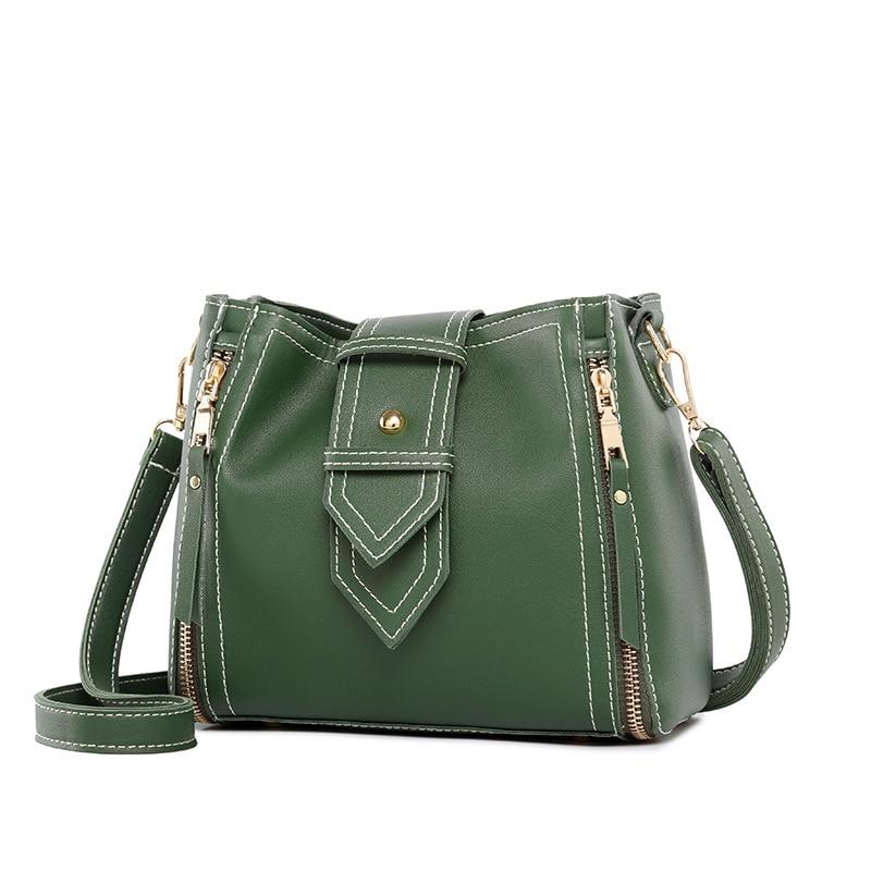 Leather Handbags small Women Bag High Quality Casual Female Bags Tote Spanish Brand Shoulder Bag Ladies Large Bolsos Color C609 Сумка