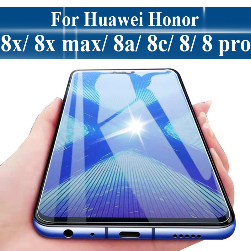 9H Tempered glass for Huawei Honor 8X 8C 8 glass for Honor 8 lite pro 8 X C screen protector protect glass Honor 8X 8 8c Glas9H Tempered glass for Huawei Honor 8X 8C 8 glass for Honor 8 lite pro 8 X C screen protector protect glass Honor 8X 8 8c Glas