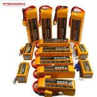 5S 18.5V Rc Auto Batteria Lipo 900 Mah 2200 Mah 2800 Mah 3300 Mah 4200 Mah 5200 Mah 30C 40C per Rc Aereo Drone Elicottero Giocattolo 5 4s Akku