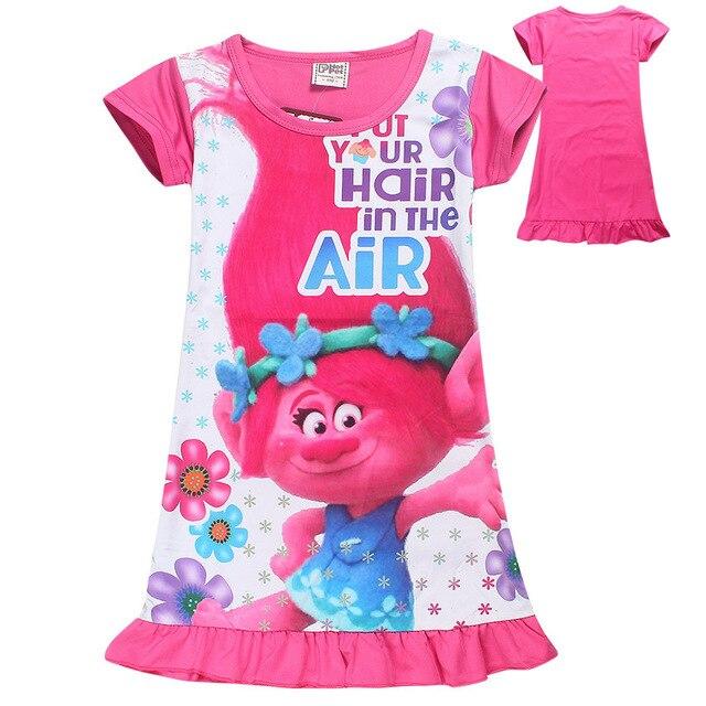 a5f6f28548 3-10 años amapola traje niños ropa Niñas pijamas vestido trajes de Año  Nuevo para