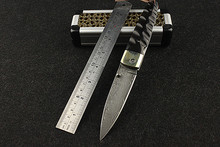 Hot Sale New Knives Navajas Quality Goods Wild Self-defense Damascus Hardness With Blade Outdoor Ebony Metalworking Knife