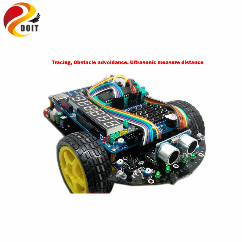 51 Microcontroller Development Board C51 Intelligent Car R2 Tracking Obstacle Avoidance Electronic Suite Starter Kit DIY RC Toy liebherr cnbe 4015