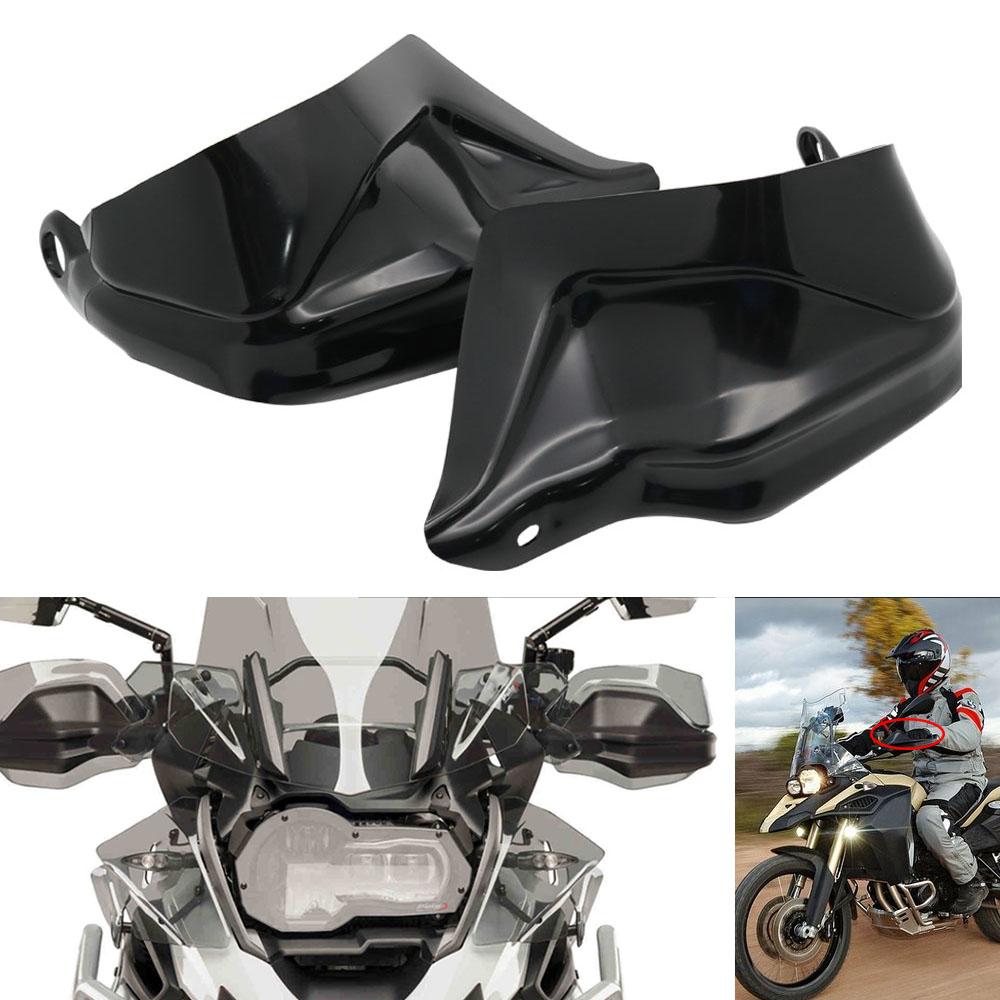 For BMW R 1200 GS ADV F800 GS Adventure S1000XR Handguard Hand Shield Protector Windshield Black 2013 2014 2015 2016 2017 2018 (39)