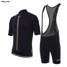 New 2018 CLASSICAL Champion Team Pro Cycling Jersey Set Bib Shorts  Customized Road Mountain Race OROLLING 0fcd97e78