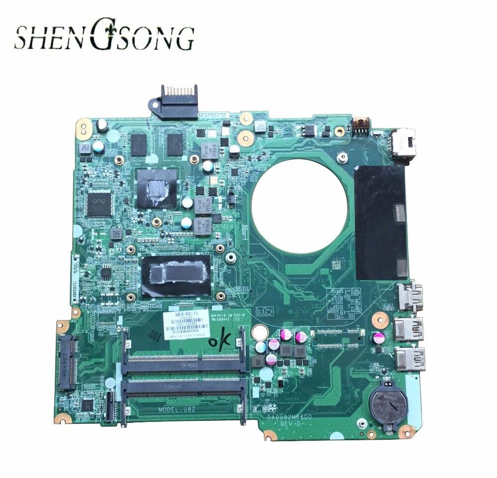 736377-001 736377-501 Livraison Gratuite Pour HP 15 série 15-n005TX mère d'ordinateur portable DA0U82MB6D0 SR170 i5-4200U 100% testé