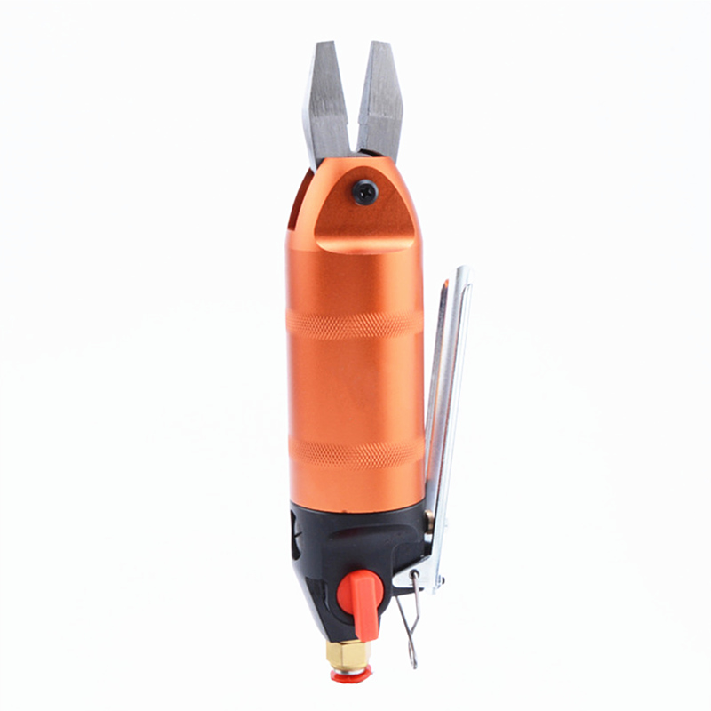 Frete grátis pneumática k6 pincer alicate vise braçadeira plana cabeça sem dentes ar vento arame alicate de friso crimper ferramenta